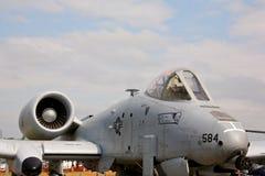 A-10 blikseminslag Stock Afbeeldingen