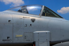 A-10 blikseminslag Stock Fotografie
