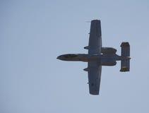 A-10 blikseminslag Stock Foto's