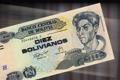 10 bolivianos Stock Photo
