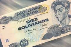 10 bolivianos de pesos Image libre de droits