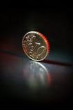 10 cent euro Royaltyfri Fotografi