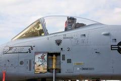 A-10 cockpit Royalty-vrije Stock Foto