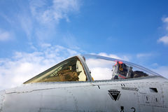 A-10 cockpit Royalty Free Stock Images