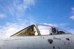 A-10 cockpit Royalty-vrije Stock Afbeeldingen