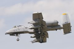 A-10 colpo di fulmine II Immagini Stock Libere da Diritti