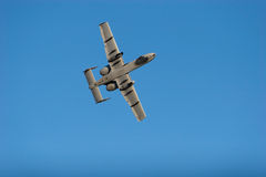 A-10 combat jet Royalty Free Stock Photo