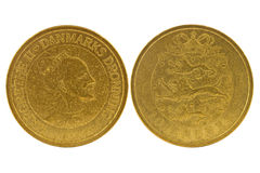 10 coronas danesas Imagen de archivo libre de regalías