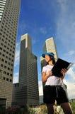 10 corporativos ocasionais Foto de Stock
