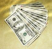 10 dólares Imagens de Stock