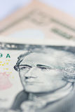 10 dólares dez Imagem de Stock