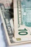 10 dólares diez Imagen de archivo