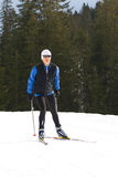 10 de ski Images libres de droits