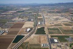 10 de um estado a outro perto de Phoenix Imagem de Stock Royalty Free