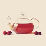 10 in der Teekanne Lizenzfreies Stockbild