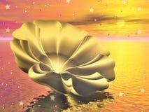 10 drömlika vatten Vektor Illustrationer