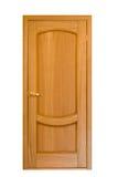 10 drzwiowych drewniane fotografia stock