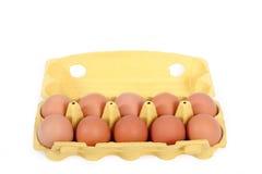 10 Eier. Stockbild