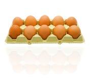 10 Eier Lizenzfreie Stockbilder