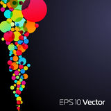 10 EPS Abstract background Royalty Free Stock Photo