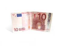 10 Euro. Cash, 10 Euro royalty free stock images