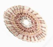10 Eurorechnungen Stockfoto