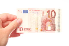 10 euros Stock Images