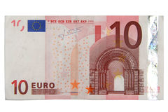 10 euros Stock Photography