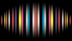 10 färgrika eps-linjer för abstrakt bakgrund Royaltyfria Bilder