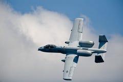 A-10 Flugzeuge des Thunderbolt II Lizenzfreies Stockfoto