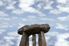 10 forntida stenar Arkivbild