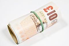 10 funtów Zdjęcie Stock