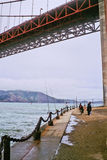10 gate bridge złota zdjęcia stock