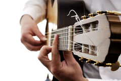 10 gitara Obrazy Stock