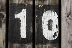 10 grunge 免版税库存照片