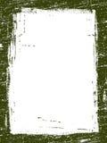 10 grunged的边界 免版税库存照片