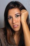 10 härlig headshot latina Fotografering för Bildbyråer