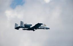 10 ii do samolotów, piorun Fotografia Royalty Free