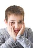 10-Jahr-alter Junge Stockfotos