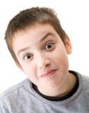 10-Jahr-alter Junge Lizenzfreie Stockbilder
