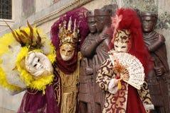 10 karneval venice Royaltyfri Foto