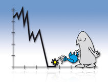 10 kryzys Obrazy Stock