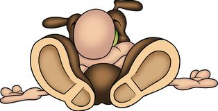 10 kur mrówki Fotografia Stock