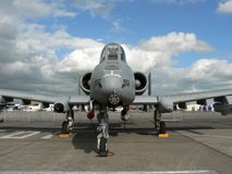 A-10 military jet fighter Stock Photos