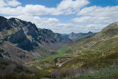 10 naturalne parque Somiedo Asturii Zdjęcia Stock