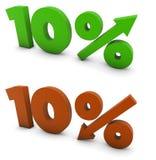 10 per cento Fotografia Stock