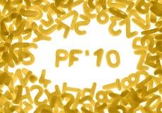 10 pf 图库摄影