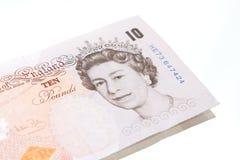 10-Pfund-Anmerkung Lizenzfreie Stockfotografie