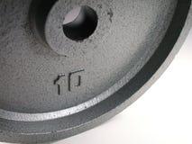 10 Pfund-Gewicht Lizenzfreie Stockfotografie