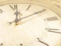 10 pierwszy zegarów minut Fotografia Stock